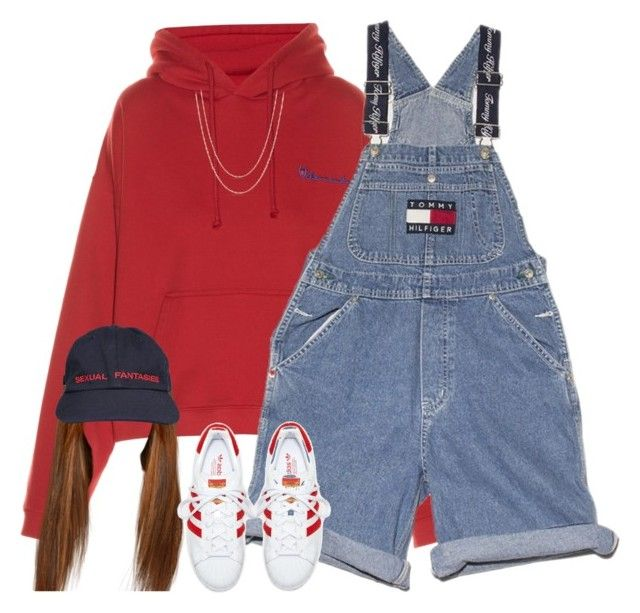 """Regular"" by oh-aurora ❤ liked on Polyvore featuring Vetements, Ralph Lauren, adidas and David Yurman"
