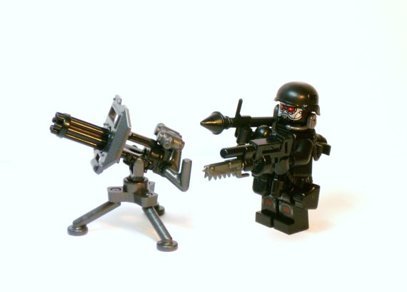 army soldier made w lego figure custom military by brickeclipse