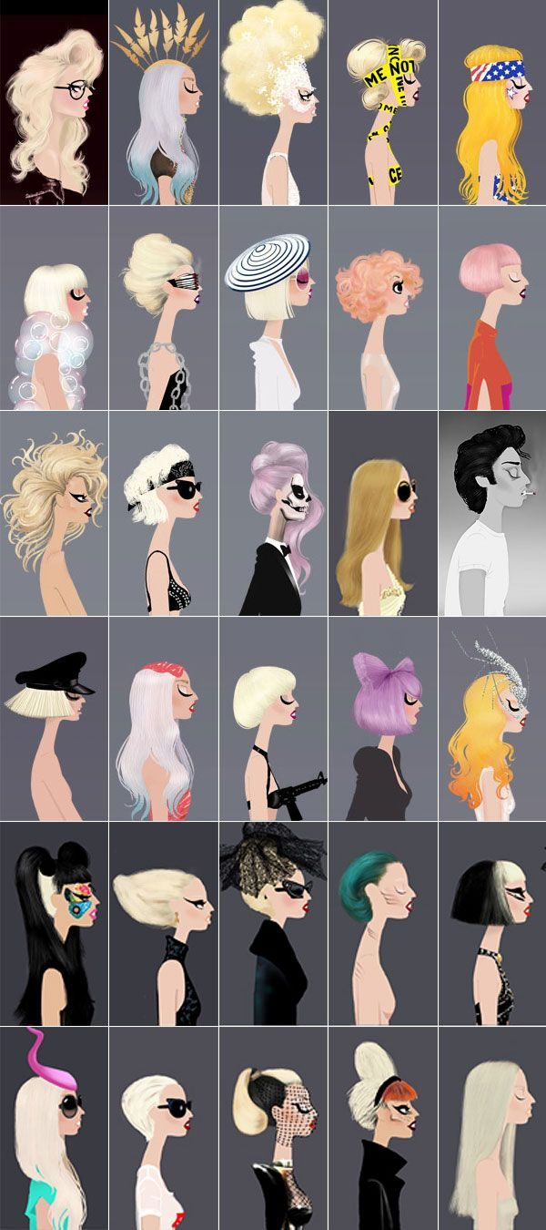 Gaga looks ♥ all amazing!