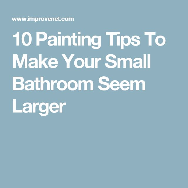 Small Bathroom Colors Pictures: Best 25+ Small Bathroom Paint Ideas On Pinterest