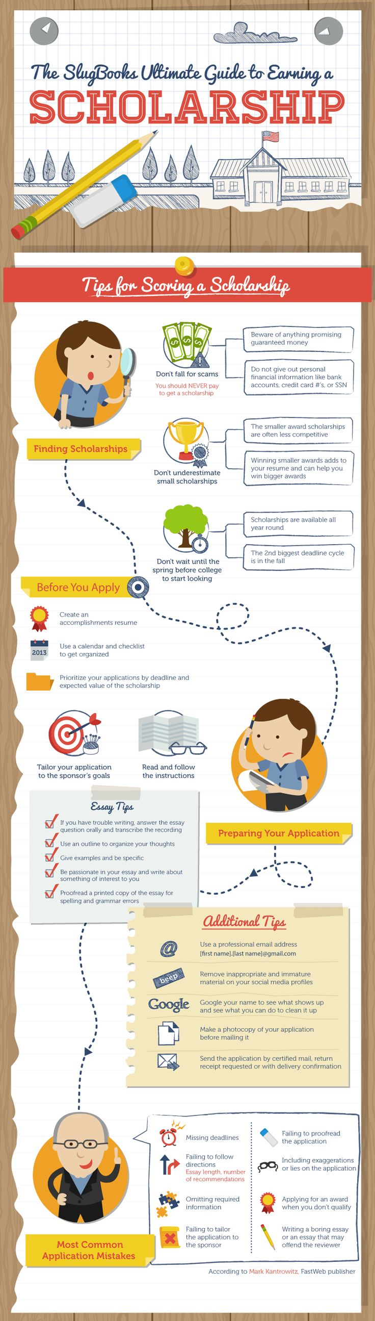 How To Write A Resume For A Scholarship New 199 Best Scholarship Info Images On Pinterest  College Club School .