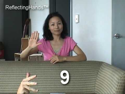 NZ Sign Language Numbers - YouTube