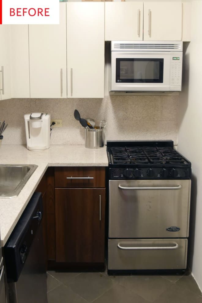 Before And After This Rental Kitchen Spruce Up Cost Just 150