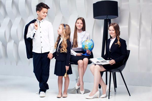 Школьная форма Choupette для мальчиков и девочек 1-11 класс