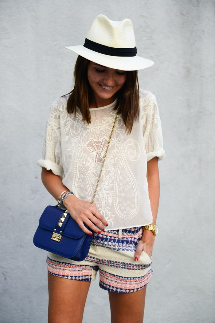Gorge summery outfit.