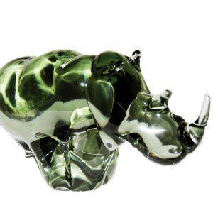 Glass Rhino - Large