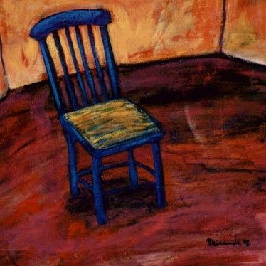 Chair Arturo Miranda  #acrylics #room #artist  #arturomiranda #art #ibiza #silla #chair #шиллак #payesa