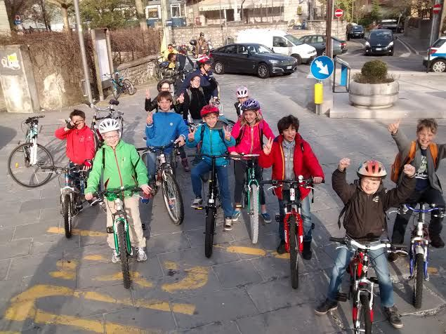 Bike to School Day a Trieste con l'International School
