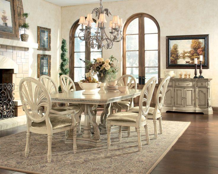Ashley Ortanique D707-60 Millennium Dining Room Server   Feast ...