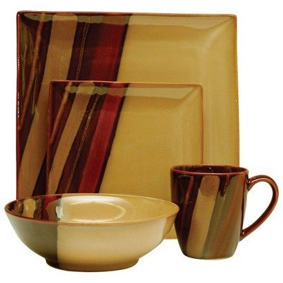 Avanti Brown Dinnerware Collection