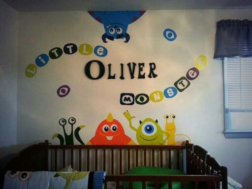 #monsters inc nursery                                                                                                                                                                                 More