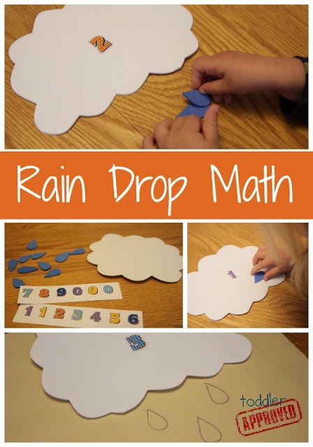 Toddler Approved!: Rain Drop Math