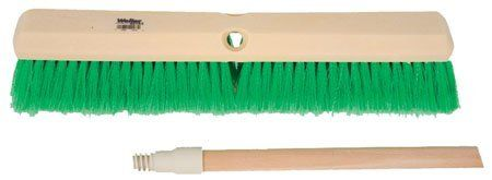 "Block Size - 24"", Material - Flagged Green Synthetic, Trim Length - 3"", Perma-Sweep Floor Brush, Weiler Corp. (1 Each) by RSC. $12.86. Floor Brushes And Squeegees - Perma-Sweep Floor Brushes - Synthetic foam block used for fine floor sweeping."