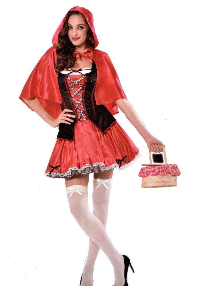 2c2ee1e1f7e25a Karneval Damen Kostüm/Fasching/Halloween-Parties -[ Motive: Rotkäppchen]