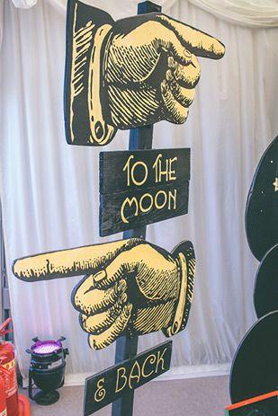 vintage style moon photo pop | www.onefabday.com