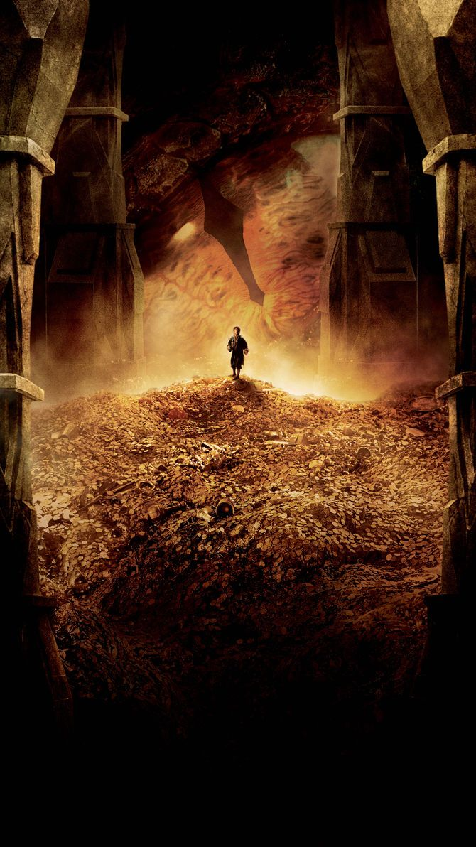 The Hobbit The Desolation of Smaug Phone Wallpaper in