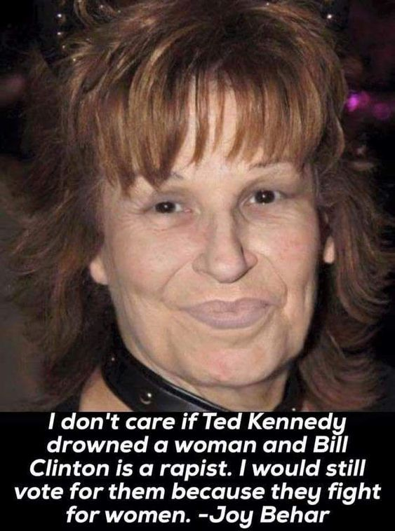 It's not her quote that's humorous, it's her and there's no question that she's joke. What an idiot.