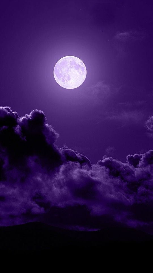 Garden Picture #purple share moments #clouds #amazing
