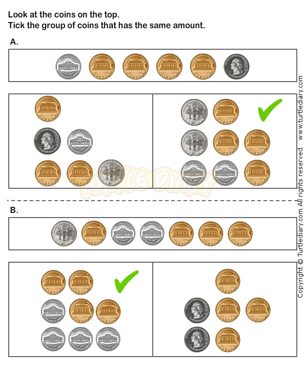 counting coins worksheet 18 math worksheets grade 1 worksheets counting worksheets. Black Bedroom Furniture Sets. Home Design Ideas