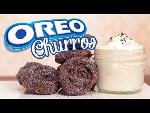 Oreo churros you can DIY at home! You know we love a good food trend, and when we saw the announcement of Oreo Churros, we knew we had to make these for ours...