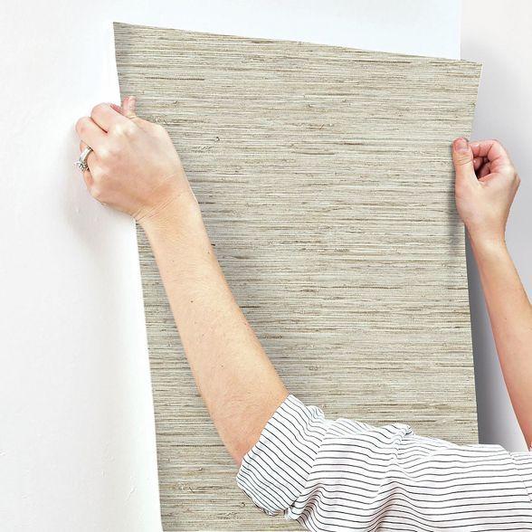 Roommates Grasscloth Peel Stick Wallpaper Peal And Stick Wallpaper Grasscloth Peel And Stick Wallpaper