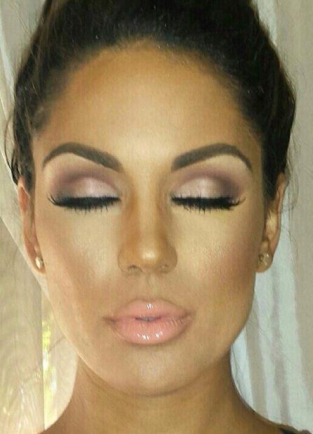 Lovely neutral makeup