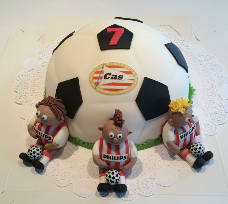 Voetbal taart PSV