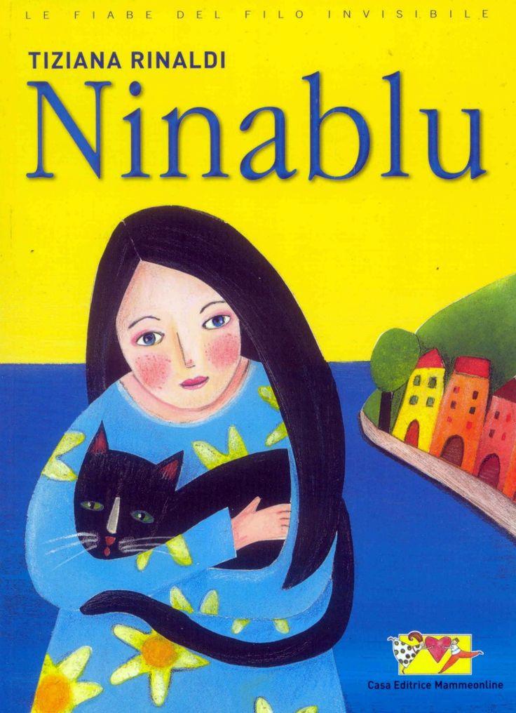 Ninablu - book cover by Tiziana Rinaldi