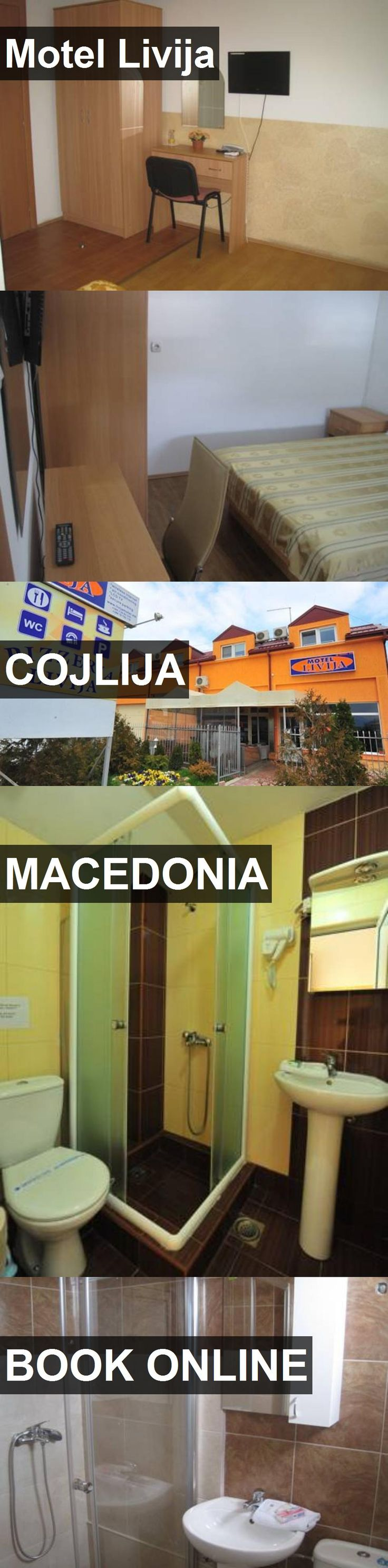 Hotel Motel Livija in Cojlija, Macedonia. For more information, photos, reviews and best prices please follow the link. #Macedonia #Cojlija #travel #vacation #hotel