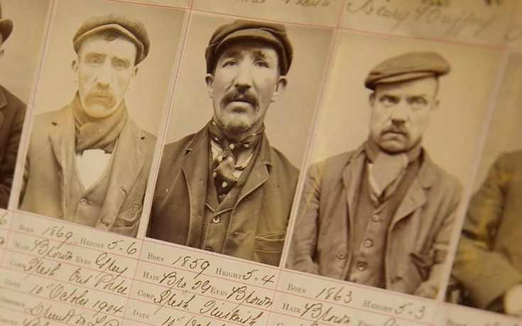 Police have revealed never before seen pictures of the real Peaky Blinders, a   ruthless Birmingham street gang whose story has inspired a new BBC drama.