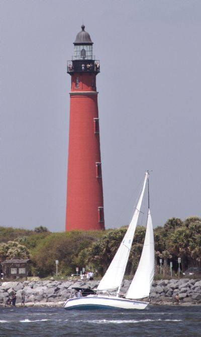 the Ponce Inlet Lighthouse - corolla, nc