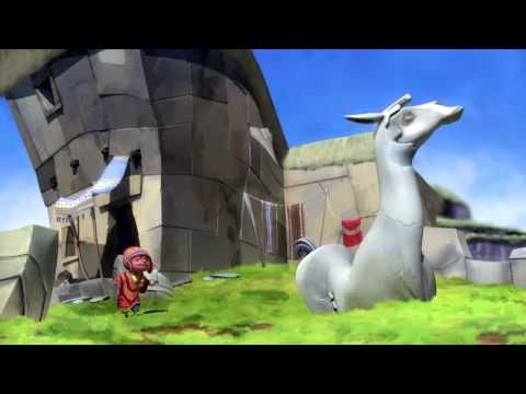 Cute animation about fantasy in Machu Picchu . Check it out!