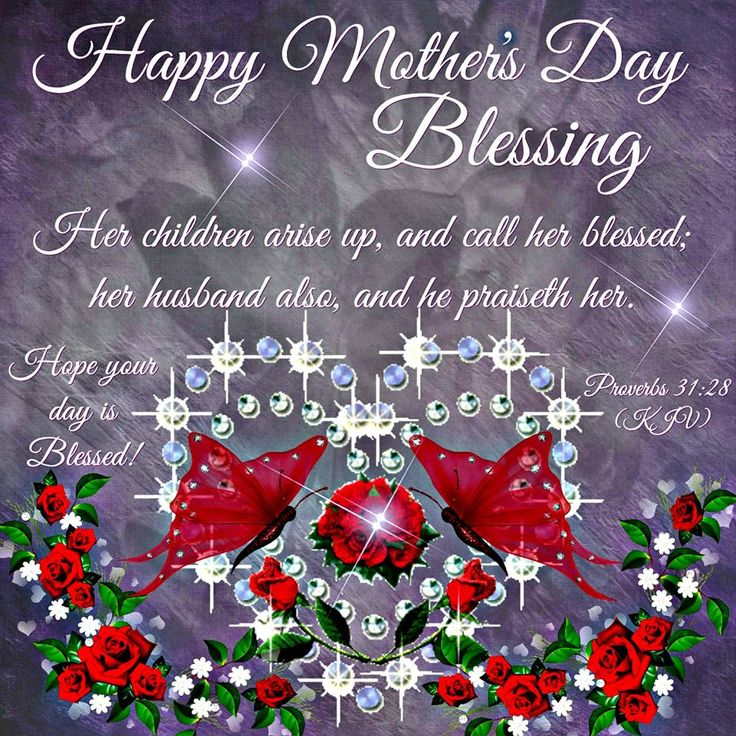 Happy Mother's Day to you, My Beautiful Sister in Christ