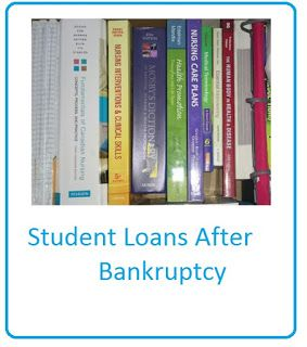 Finances and Bankruptcy: Accepted!!!... which means Student loan....