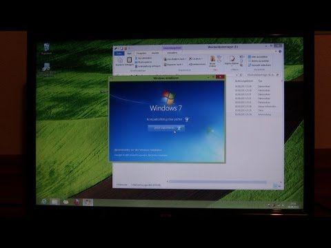 Anleitung: Windows 8 löschen/deinstallieren und Windows 7 installieren - ohne CD Laufwerk [German] - YouTube