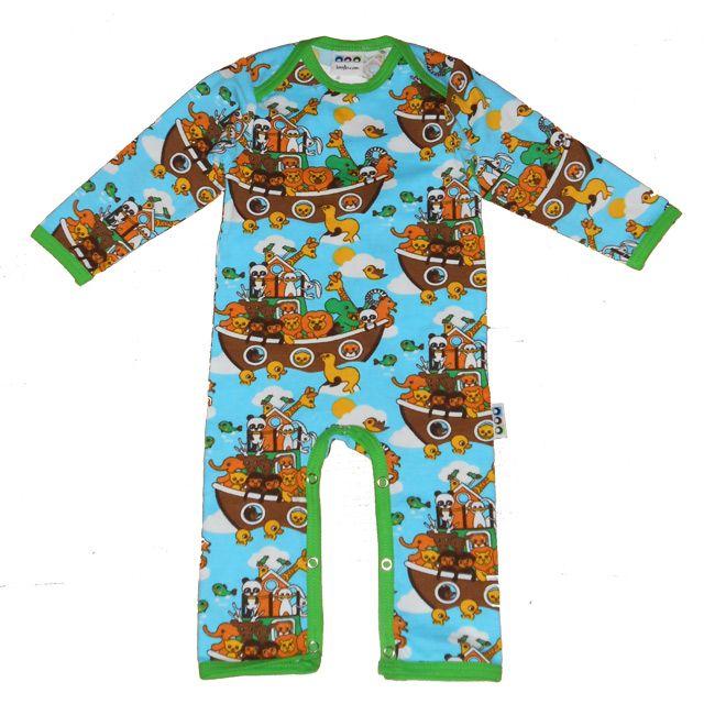 Knotsknetter - Liandlo jumpsuit Noah's Ark - Meisjeskleding