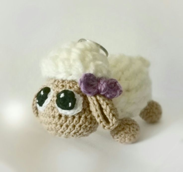 Amigurumi Sheep Keychain : 1000+ images about Crochet keyrings- keychains on ...