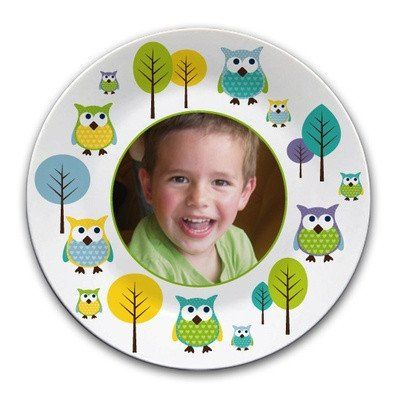 Personalised melamine plate with picture - PetitePeople, Plate