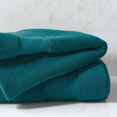 Resort Bath Collection In Indian Teal - Bath Mat - Frontgate