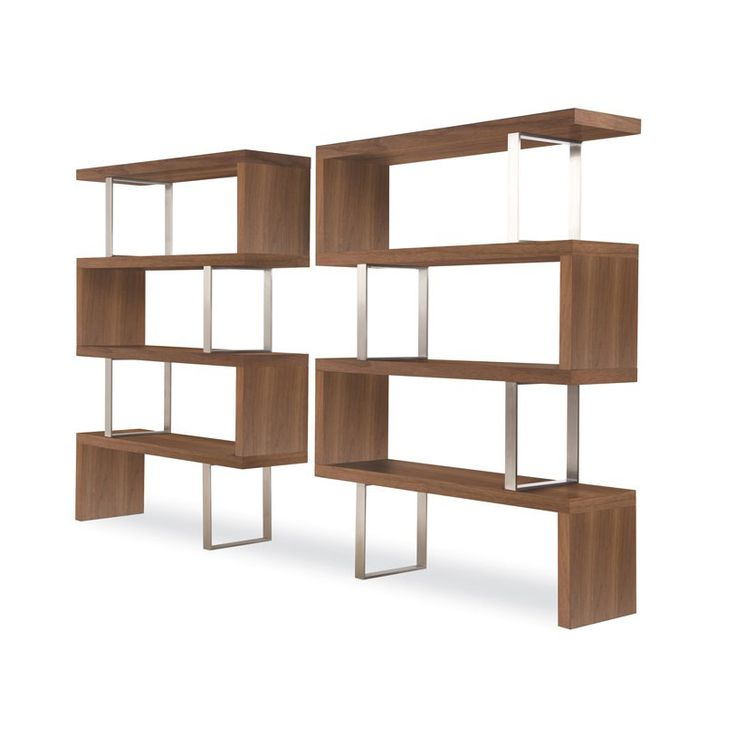 Room dividers Shelving Modloft Pearl Bookcase - to divide living room and  foyer. Find this Pin and more on Mid Century Modern ...