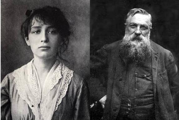 Camille Claudel e Rodin all'epoca della loro relazione in due foto a confronto...