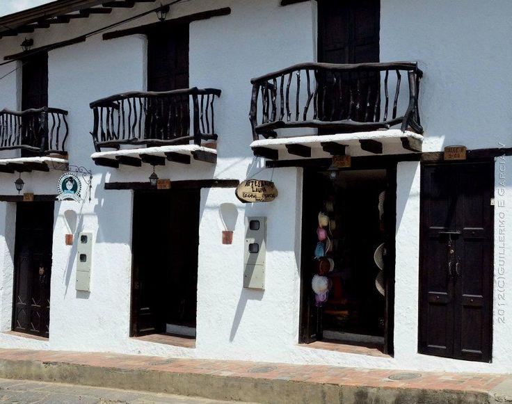 Tienda de artsanìas Curiti Foto Guillermo Garcia Villamizar