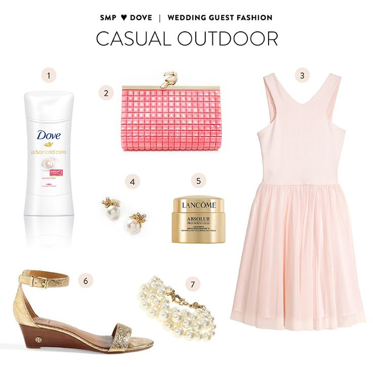 Read More: http://www.stylemepretty.com/2014/08/14/wedding-guest-style-inspiration-with-dove/