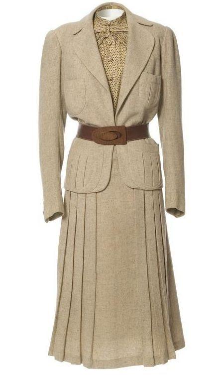 Jeanne Paquin Spring Suit 1937 | http://sheepandchick.blogspot.co.nz/
