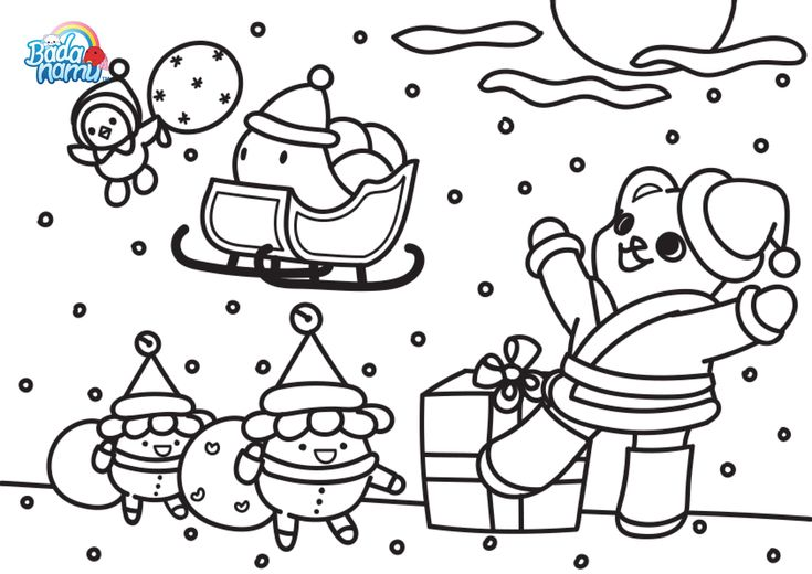 badanamu coloring pages - photo#29