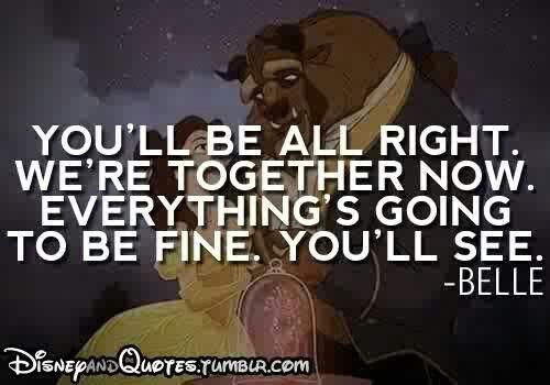 Awwwwweeeeee I love Beauty and The Beast!