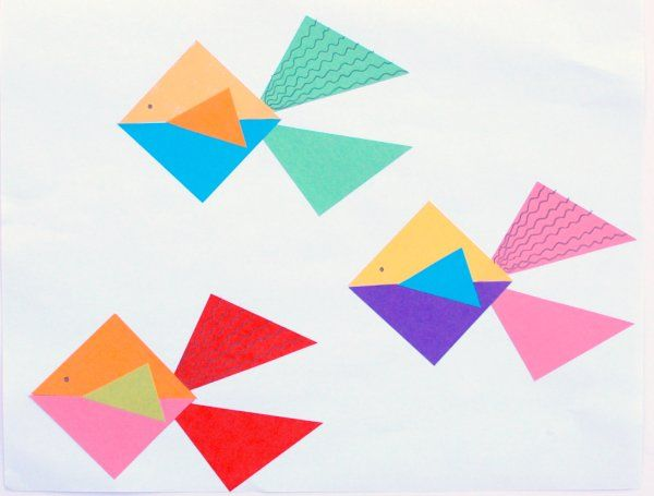 Great ideas on triangles.  Would be good for the little guys too--since you can pre-cut them.