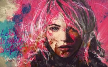 "Saatchi Art Artist yossi kotler; Painting, ""i am unique"" #art"