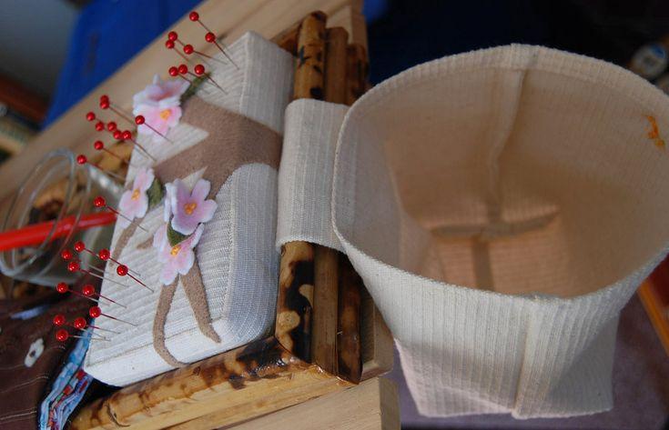 Cherry Blossom Sewing Machine Cozy, Pin Cushion & Thread Catcher... - MISCELLANEOUS TOPICS