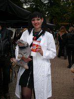Abby from NCIS cosplay Elf Fantasy Fair 2013 Arcen